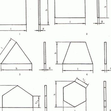 Формы керамической плитки для облицовки пола