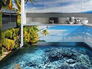 Декоративные наливные полы