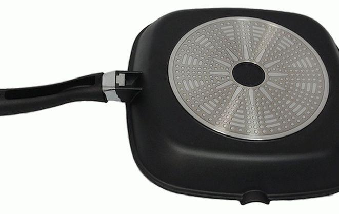 Дно сковородки для индукционной плиты