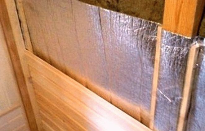 Утеплитель для стен бани