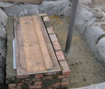 Строительство септика из бетона своими руками