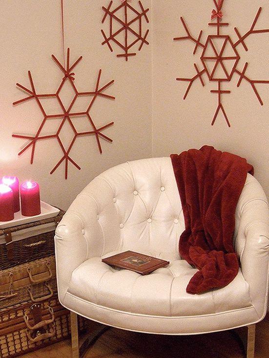 Как украсить квартиру на Новый год своими руками