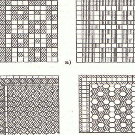 Образцы полов из керамических плиток