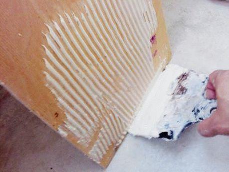 Укладка фанеры под линолеум на бетонную стяжку