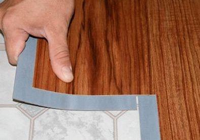 Укладка плитки ПВХ своими руками