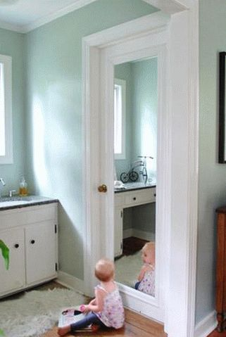 Как закрепить зеркало без рамки на стене, на стенке шкафа, на кафельной плитке