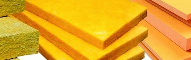 Теплоизолирующие материалы для внутреннего помещения