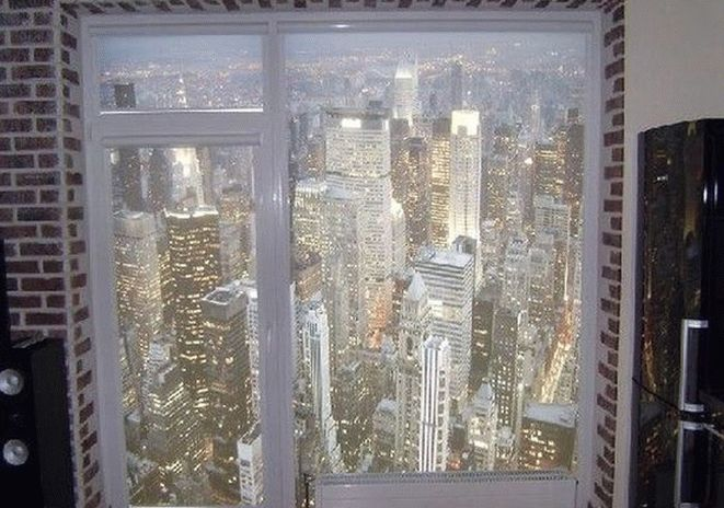Рулонные шторы с объёмным изображением