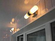 Освещение на балконе и лоджии