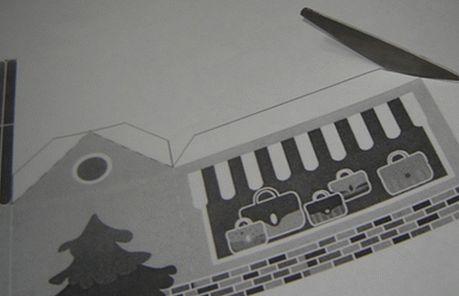Домик из картона (бумаги) своими руками
