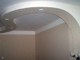 Фотогалерея потолков из гипсокартона