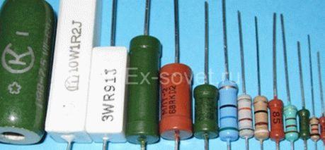 Как проверить резистор (сопротивление) мультиметром (универсальным прибором)
