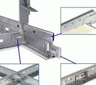 Фото стыковки основной и промежуточных направляющих - стыкуются под прямым углом