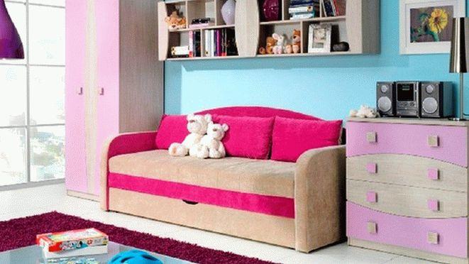 детские диваны с бортиками (3)