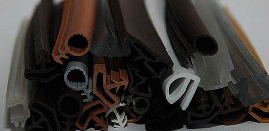 Уплотнитель для пластиковых окон виды
