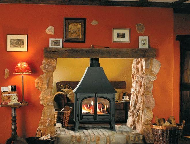 дровяной камин в гостиной2
