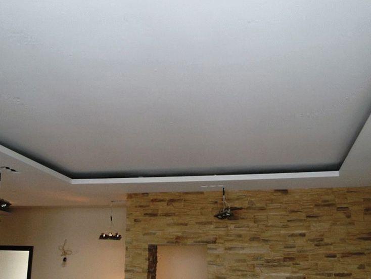 Навесной потолок из гипсокартона