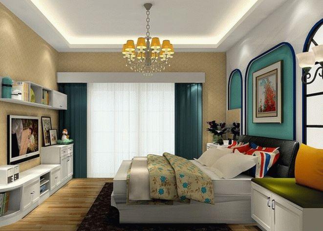 Шторы для спальни: фото и идеи