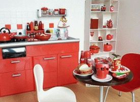 Small-Apartment-Kitchen-In-Red-And-White-interior-decorating-ideas-modern-design-kitchen-cabinets-islands-designs-house-island