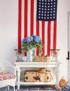 американский флаг 15