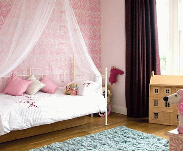 бело-розовый интерьер 11