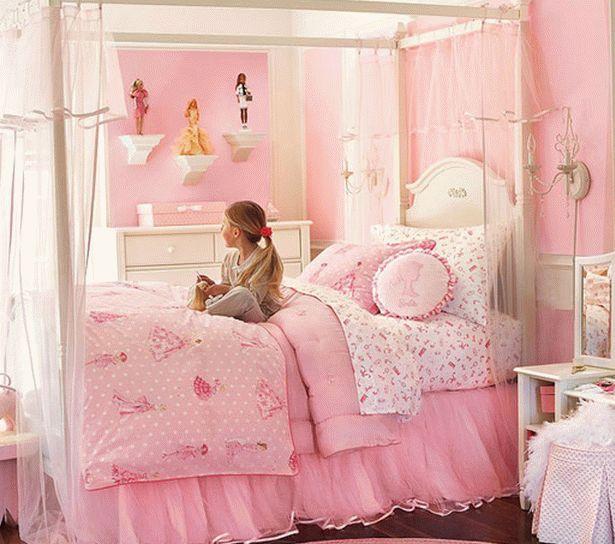 бело-розовый интерьер 31