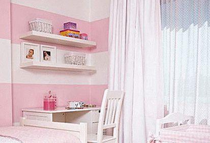 бело-розовый интерьер 37