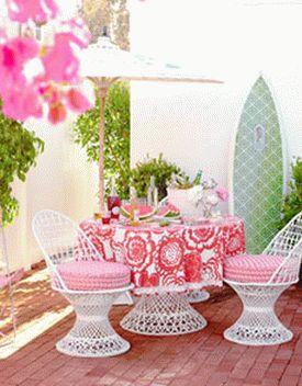 бело-розовый интерьер 39
