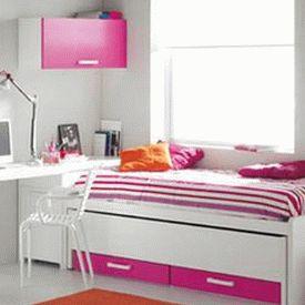бело-розовый интерьер 59