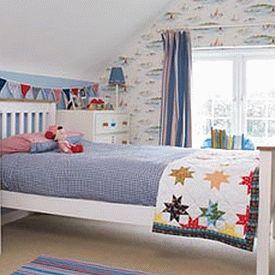 детская комната в морском стиле 04
