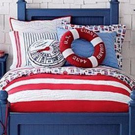 детская комната в морском стиле 09