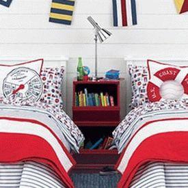 детская комната в морском стиле 11