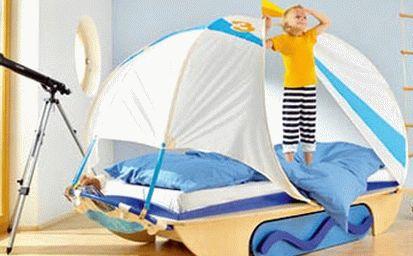 детская комната в морском стиле 13