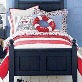 детская комната в морском стиле 18