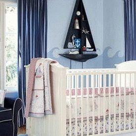 детская комната в морском стиле 21