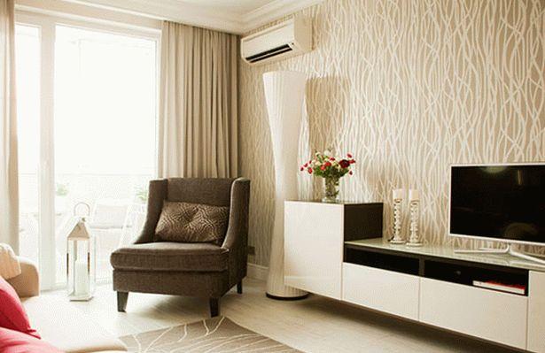 дизайн однокомнатной квартиры для молодой пары 002