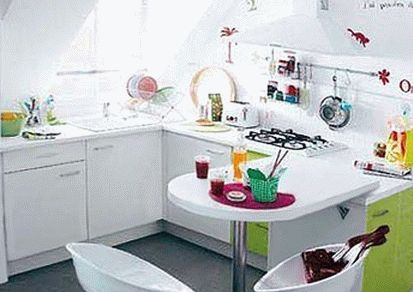 дизайн интерьер маленькой кухни 04