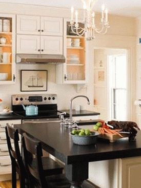 дизайн интерьер маленькой кухни 45