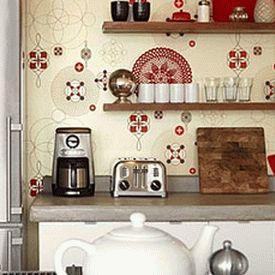 дизайн интерьер маленькой кухни 50