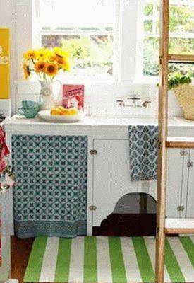 дизайн интерьер маленькой кухни 81