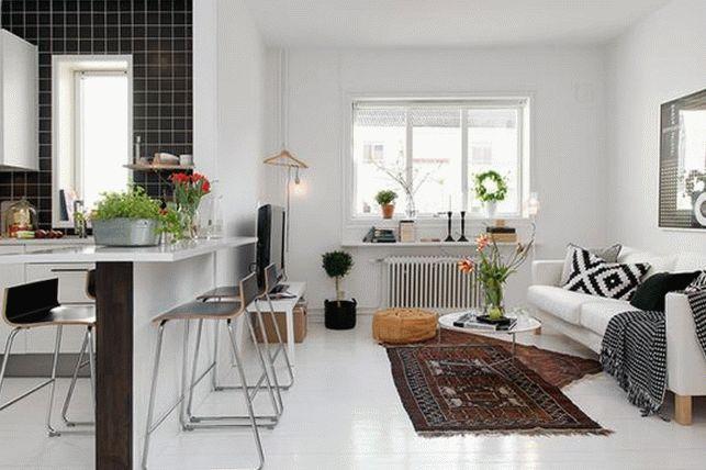 Дизайн однокомнатной квартиры 2
