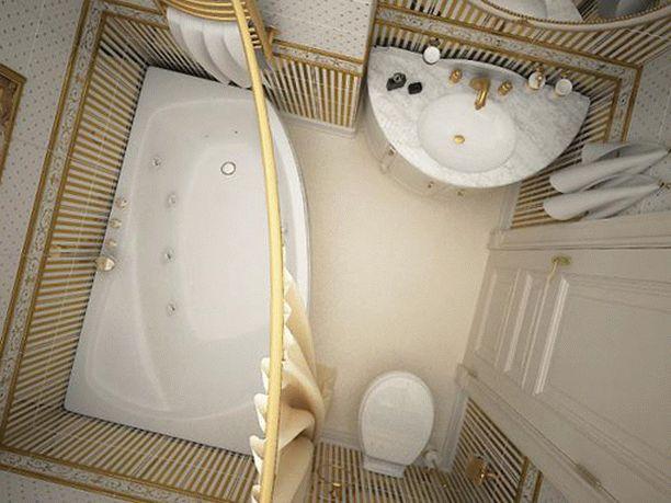 Проект ванной для хрущевки или панельного дома