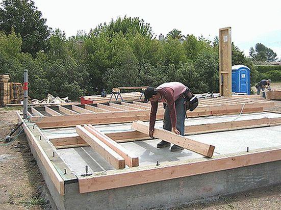 Дом из дерева | Как выбрать надёжный фундамент