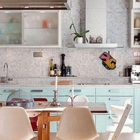 голубая кухня 07
