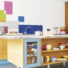 голубая кухня 10