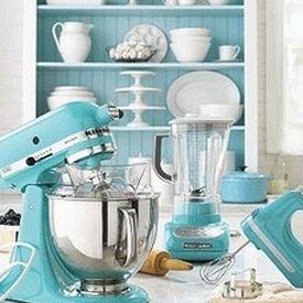 голубая кухня 11