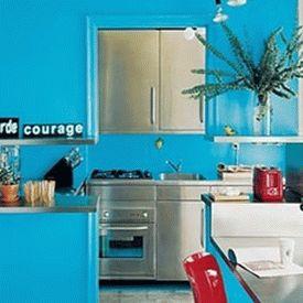 голубая кухня 13