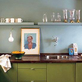 голубая кухня 17