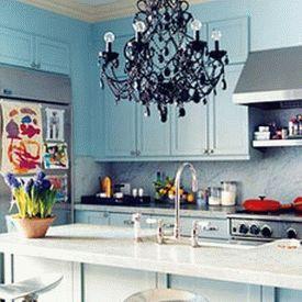 голубая кухня 19