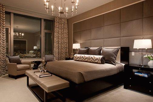 Дорогие гостиничные номера могут быть примерами для оформления домашних спален